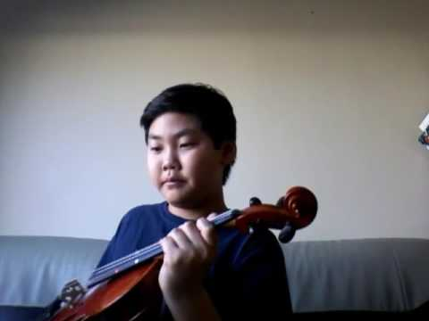 How to play cake by the ocean in violin
