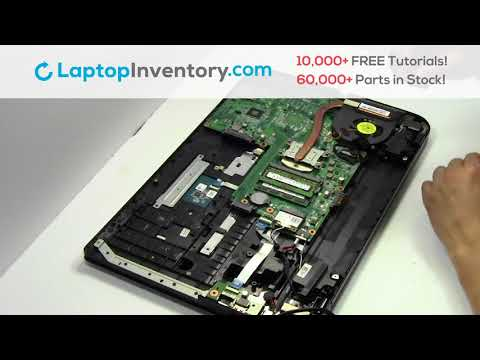 How to Replace Toshiba Satellite C70 Laptop Motherboard and Fan, Dismantle C55 C850 L55 S855