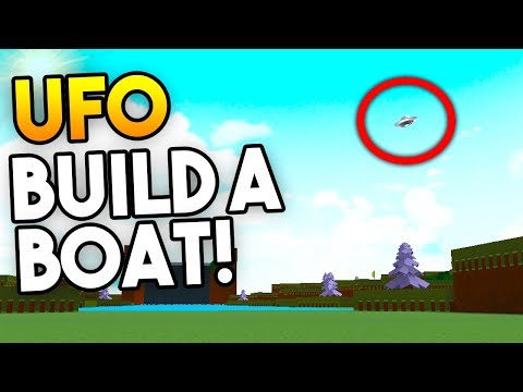 *INSANE* UFO (you can fly it!)   Build A Boat For Treasure ROBLOX