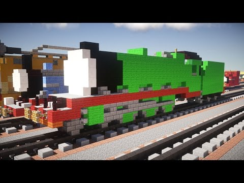 Minecraft Henry Thomas & Friends Tutorial