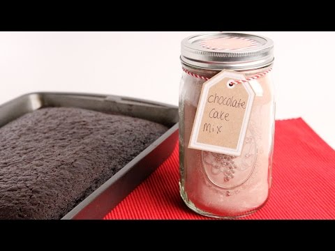 DIY Chocolate Cake Mix - Edible Gifts
