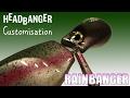 Customisation Dun Headbanger Rainbanger By Scarna Fishing