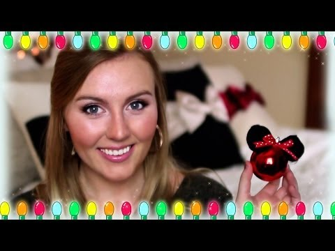 DIY Minnie Mouse Inspired Christmas Ornament - Amarixe Disney Exclusive