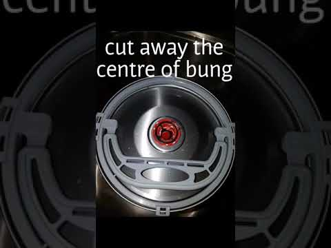 How to remove a bung from a Mini Keg