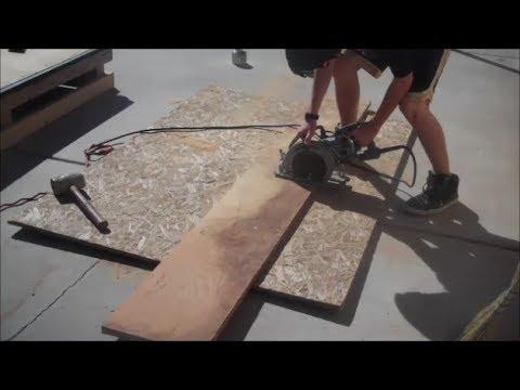 how to make an A-Frame skate ramp
