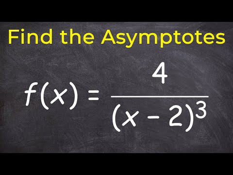 Find the vertical and horizontal asymptotes