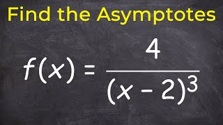 Pre Calculus Find The Vertical And Horizontal Asymptotes Fx4x 23 Fx3x
