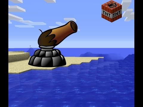 √ Minecraft: How to make a TNT Cannon