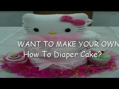 How To Diaper Cake - The Nit And Gritty Info About How To Make Your Own Diaper Cake