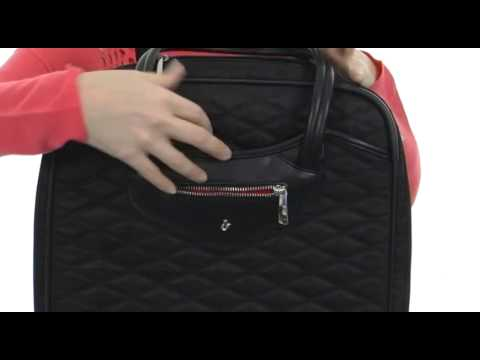KNOMO London Scala Double Compartment Wheeled Brief Carry On Case SKU:#8301235