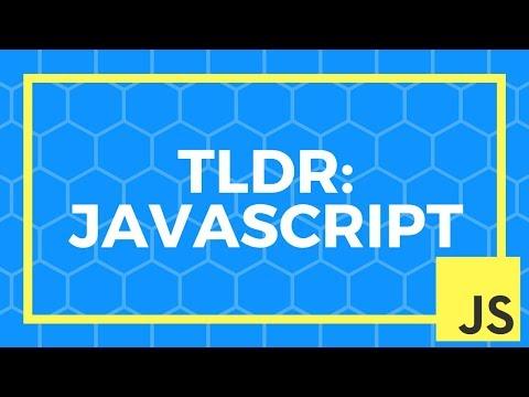 TLDR JavaScript | Introduction to JavaScript | JavaScript 101