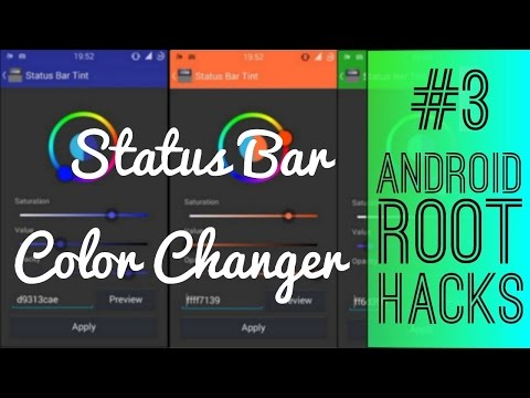 EP03 : Color your status bar with this application !