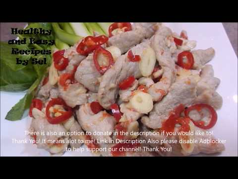 Pork in Spicy Lime Juice Recipe
