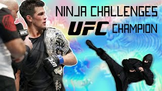 Download Ninja Challenges UFC Champion to MMA Fight Video