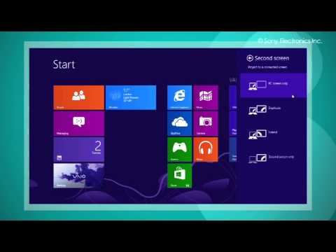 How To Connect Multiple Monitors in Windows 8?