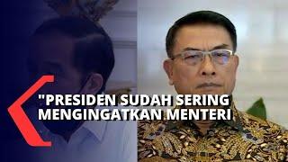 Soal Amarah Presiden Jokowi pada Menterinya, Ini Kata Moeldoko!