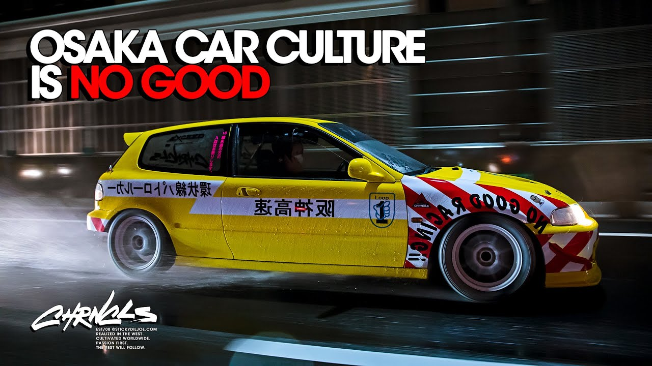 Osaka Car Culture is NO GOOD...