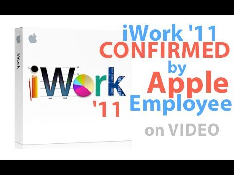 Apple Employee Confirms iWork '11 is Coming