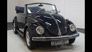 Volkswagen Beetle 1302 Cabriolet 1968 -video- Www.erclassics.com