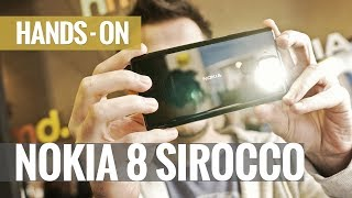 Nokia 8 Sirocco hands-on review
