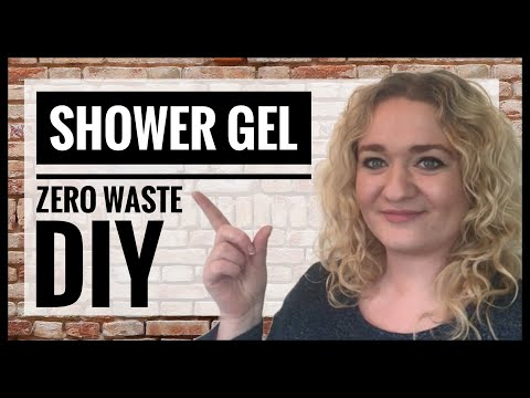 How To Make Shower Gel - DIY Liquid Soap From Bar Soap - Easy Zero Waste Body Wash