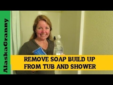 How to Remove Soap Build Up From Shower and Tub