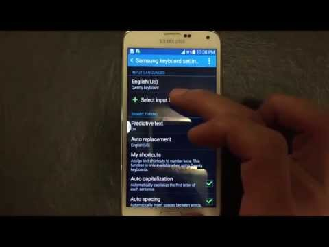 How to Change Keyboard Language on Galaxy S5- Use Multiple Languages