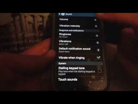 How to change the ringtone on a samsung galaxy s3