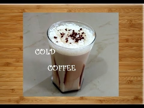 Cold Coffee like CCD recipe in hindi|Easy to make cold coffee