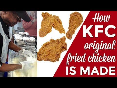 How KFC Original Recipe fried chicken is made