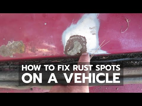 HOW TO FIX RUST SPOTS: New-Car Look With Two Simple Tools