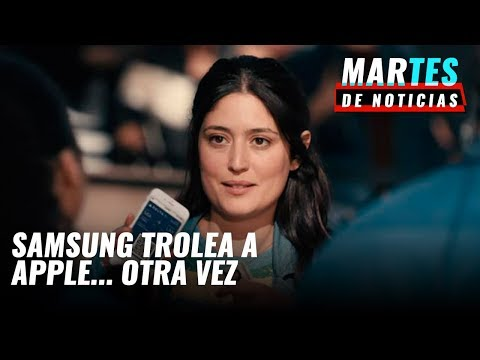 #MartesDeNoticias: Samsung trollea de nuevo a Apple, Vivo Apex