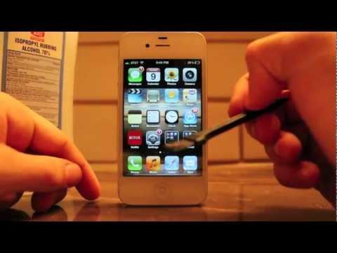 iPhone 4S  - How to fix Audio bug, no audio. (VIDEO TUTORIA)