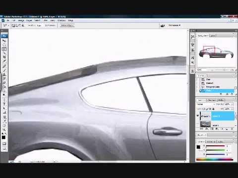 How to Change Car Color in Photoshop