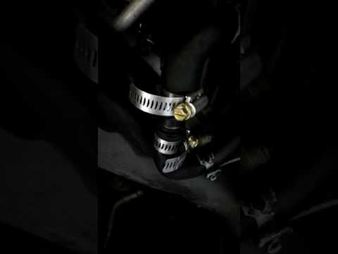 How to bypass a rear heater core on a 2001 Dodge Durango simple fix...