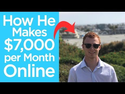 How He Makes $7,000 per Month Affiliate Marketing   Chad Bartlett