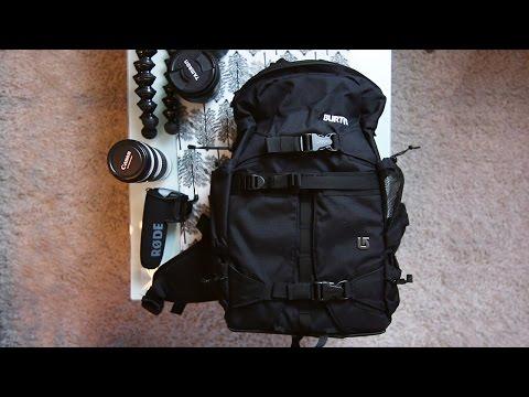Burton Zoom Pack Review (Stylish DSLR Camera Bag & Video Backpack)
