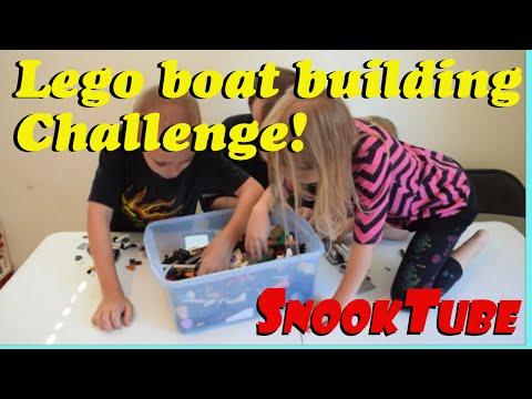 Family Lego Boat Challenge!