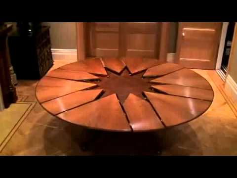 New Technology Table Expandable Round Dining Table