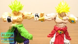 DRAGON BALL STOP MOTION FUSION BROLY AND BROLY FIGURE RISE STANDARD PLASTIC MODEL #dragonball