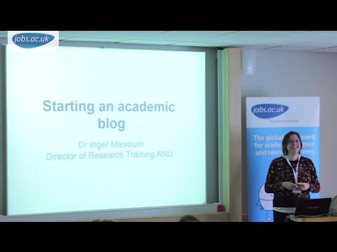 The Thesis Whisperer: Starting an Academic Blog