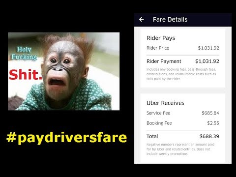 Uber listen up ! We have had enough ! #paydriversfare #IPOdriveout