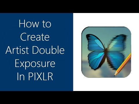 How to Create Artist Double Exposure In Pixlr Editor