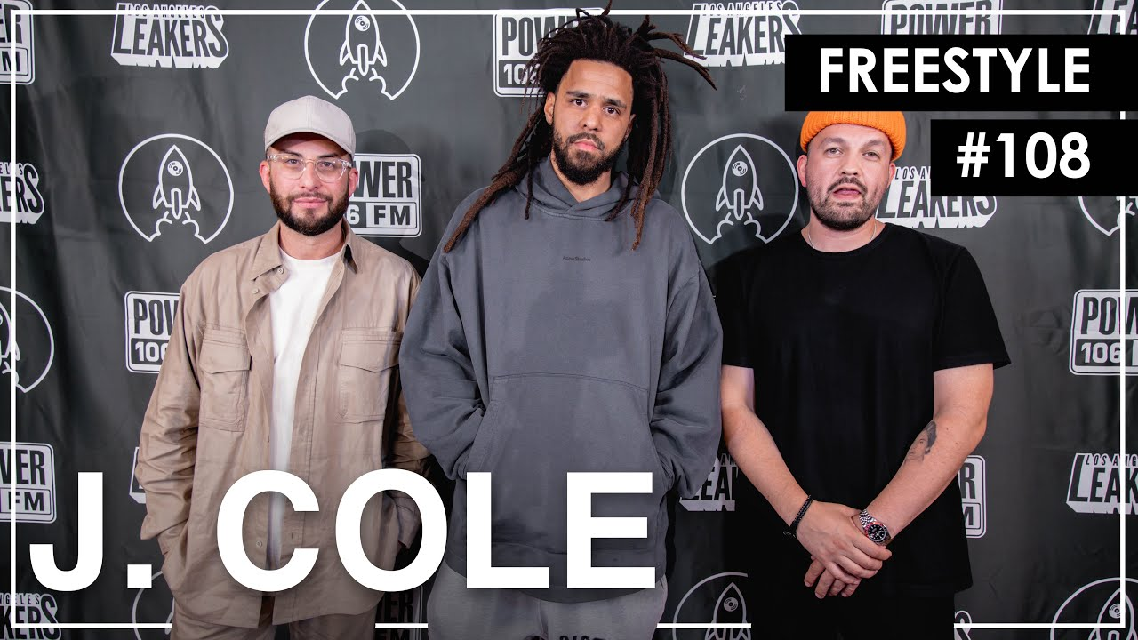 "J. Cole Freestyles Over ""93 Til Infinity"" & Mike Jones' ""Still Tippin"" - L.A. Leakers Freestyle #108"