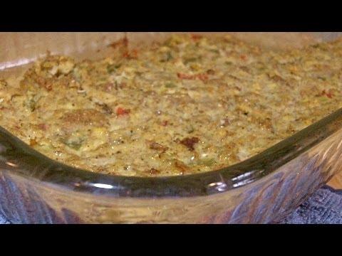 Grandma's Southern Cornbread Dressing Recipe