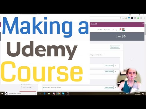 How to Start Making a Udemy Course in 2018