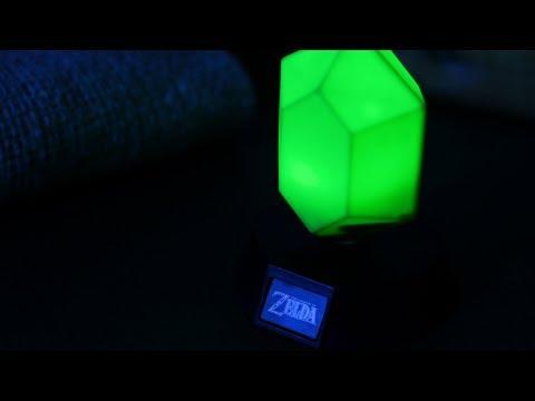 The Legend of Zelda Green Rupee Icon Light | Paladone