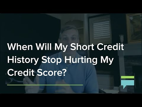 When Will My Short Credit History Stop Hurting My Credit Score? – Credit Card Insider