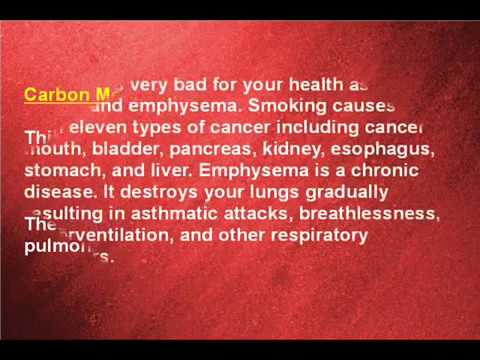 Why is Smoking Bad For Your Health? - The Many Reasons Why Smoking is Bad For You