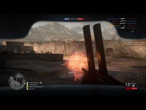 Villar Perosa 13 Player Kill Streak | Battlefield 1